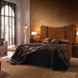 STELA  BED SET - MEASURES HEADBOARD: