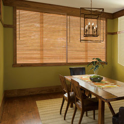 "Levolor - Levolor 2-inch Premium Wood Blinds - Designed to blend with your flooring, furniture, cabinetry and other wood finishes in your home, 2"" slats are the traditional choice for most window sizes."