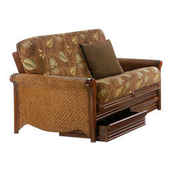 Night & Day Furniture - Night and Day Rattan Drawer Set in Honey Glaze - Chair - Rattan Futons drawer belongs to Rattan collection by Night and Day. Available in Honey glaze finishes. Made of wood.