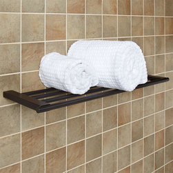Chartley Towel Rack - With hidden hardware, the solid brass Chartley Collection Towel Rack blends seamlessly with practically any d