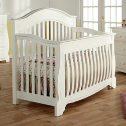 Pali Designs - Pali Designs Bergamo Forever Crib - 1900-WH - Shop for Cribs from Hayneedle.com! One night years from now as you tuck your teenager into the Pali Designs Bergamo Forever Crib you'll be able to kiss them gently on the cheek and whisper When are you going to move out so we can turn this into a guest bed? Of course for now you can simply look forward to laying your sweet baby down in this crib for a good night's sleep. This beautiful crib has the ability to grow with your child saving you from the exhaustive and expensive steps redecorating your child's room from one phase to the next as it converts to a toddler bed then to a day bed and finally to a full bed headboard and footboard. This capability makes those transitions of growing up a lot less painful for you and your little one. The crib is one of your tike's first personal spaces and holding on to that gives your child a sense of comfort and stability when everything else seems to be changing.Being a true conversion bed means more than simply being able to reconfigure the shape to accommodate a larger mattress. Transitional furniture like this clever crib also requires quality construction and a tastefully classic design that your child will grow to appreciate more and more rather than simply grow out of. This crib and bed design is inspired by the small but picturesque Italian city of Bergmano. Nestled in the foothills of the Alps this historic and cultural gem features winding streets and snowcapped slopes beneath the rugged backdrop of the mountains' magnificent peaks. This natural beauty shows through in the impressive curves and contours of the crib's layered wood construction producing a classic design that will be the highlight of your nursery and is as appropriate for an infant as it is for an adult.And more than just looks this crib as with all of Pali Design's pieces uses sustainable resources in the construction. All the solid substrates are sustainably harvested from forests in Europe New Zealand and Southeast Asia because no furnishing can truly call itself lasting if it does not also take care of the world in which it is conceived.About PaliFor Pali the process of designing and producing high-quality furniture isn't just business it's personal. As a family-owned business four generations have guided Pali through almost 100 years of innovation technology development and production. In 1919 every piece of furniture was crafted by hand in the workshop; today Pali has utilized their expertise and knowledge of fine handmade chairs to produce beautifully designed cribs dressers and other bedroom furnishings. In their quest to create high-quality furniture that stands the test of time Pali is dedicated to reducing the amount of composite wood products and sourcing their solid substrates from sustainable easily harvested resources in Europe New Zealand and Southeast Asia. Pali takes this commitment seriously; every drawer box is constructed with solid wood and finished with English dovetailing and solid wood corner blocks for superior quality and durability. Their attention to detail commitment to quality and dedication to protecting our planet's resources makes Pali stand out as a leader in their industry and a company that can be entrusted your child's safety.