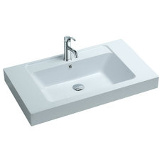 Contemporary Bathroom Sinks by ADM Bathroom Design