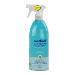 Method Products Tub And Tile Spray - Eucalyptus - 28 Oz - Case Of 8 - With Non-Toxic Plant-Based Powergreen Technology