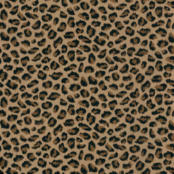 Leopard Print Wallpaper - Leopard print wallpaper — how fabulous! Do an accent wall, or paper the whole room. You won't be sorry!