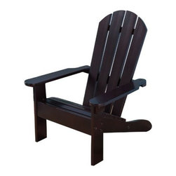 KidKraft - Kidkraft Adirondack Chair - Espresso - Based on the classic Adirondack style of furniture established in the mountains of upstate NY in the 1870's, the KidKraft Adirondack Chair is the perfect piece for lazy days in the sun with your little one. The sturdy all wood construction and choice of colors makes this a popular item among kids and parents alike.