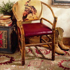 Traditional Armchairs by Old Hickory Furniture Company