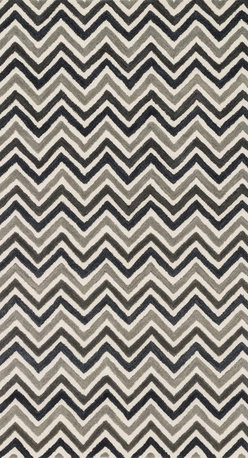 """Loloi Rugs - Loloi Rugs Weston Collection - Ivory / Grey, 5'-0"""" x 7'-6"""" - Feast your eyes on this. Hand-tufted in India of 100% wool, the tastefully designed Weston Collection features vibrant colors and bold, graphic patterns that instantly uplift the mood of your room. What's more, each Weston rug is crafted with a combination of colorful cut pile and ivory loops - adding a sense of depth and drama to these amazingly textural rugs."""