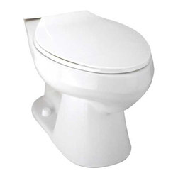 MANSFIELD PLUMBING PRODUCTS - Mansfield Summit Bowl Elongated White #382 - Mansfield Summit Bowl Elongated White #382