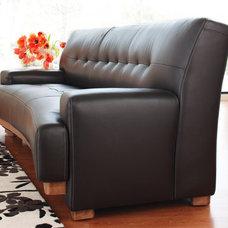 Scandinavian Designs - Leather Sofas - Mandalay Sofa