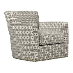 Eckert Swivel Accent Chair - Living Spaces