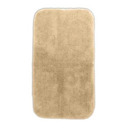 "Garland Rug - Bath Mat: Accent Rug: Finest Luxury Linen 30"" x 50"" Bathroom - Shop for Flooring at The Home Depot. Beautify your bathroom and make your feet happy with Finest Luxury Bath Rugs. These rugs will compliment any bathroom decor and are available in a variety of colors and sizes. The super heavyweight solid color plush is a traditional sleek design. Finest Luxury is made with 100% Nylon for superior softness and colorfastness. Proudly made in the USA."