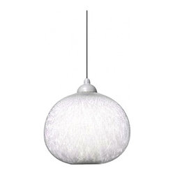 """Moooi - Non Random Light Black - Catalog Featured - Product Details:     The Non Random Light is designed by Bertjan Pot in 2007, and is made by MOOOI. This beautiful pendant lamp is made of Fiberglass coated in epoxy resin with a coated aluminum cap.This fixture is available in White and Blackand in two sizesdifferent sizes.UL LISTED.  Details:                                              Manufacturer:                                           Moooi                                                              Designer:                                          Bertjan Pot, 2007                                                              Made in:                                          Netherlands                                                              Dimensions:                                           Small: Diameter: 24.8""""(63cm) Height: 21.7"""" (55cm)              Large: Diameter: 25.2"""" (64cm)Height: 29.5"""" (75cm)                                                              Light bulb:                                           E26 x 1 60W Max type A                                                              Material:                                           Fiberglass, Epoxy"""