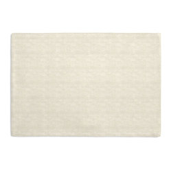 Cream Textured Linen Custom Placemat Set - Is your table looking sad and lonely? Give it a boost with at set of Simple Placemats. Customizable in hundreds of fabrics, you're sure to find the perfect set for daily dining or that fancy shindig. We love it in this ivory slubby linen with a slightly loose weave for a casual look.