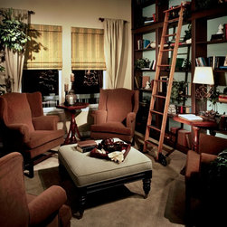 Custom Window Treatments - Windows Dressed Up Showroom in Northwest Denver, 38th on Tennyson (303.455.1009), offers the latest in roman blinds or shades from leading suppliers such as Hunter Douglas, Lafayette Interior Fashions and Graber. Custom Volari Roman Shades, Vignette and Genesis are just some of the trade names available. Photo courtesy of DSC Custom Window Fashions.