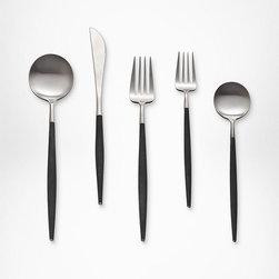 DVF Petite Collection Flatware (5 Piece Set) - This stunning set of flatware