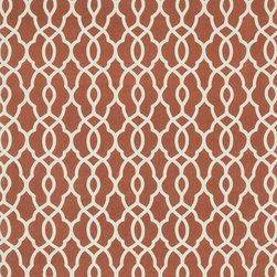 """Loloi Rugs - Loloi Rugs Felix Collection - Rust / Ivory, 2'-3"""" x 3'-9"""" - With bold patterns and fun color options, Felix is an ideal collection for any modern interior. These simple, geometricdesigns are printed in India onto an all-cotton surface, creating a look that's casual but still eye-catching."""