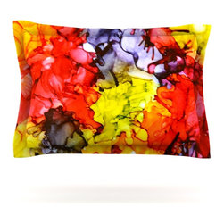 "Kess InHouse - Claire Day ""Southern Comfort"" Pillow Sham (Cotton, 30"" x 20"") - Pairing your already chic duvet cover with playful pillow shams is the perfect way to tie your bedroom together. There are endless possibilities to feed your artistic palette with these imaginative pillow shams. It will looks so elegant you won't want ruin the masterpiece you have created when you go to bed. Not only are these pillow shams nice to look at they are also made from a high quality cotton blend. They are so soft that they will elevate your sleep up to level that is beyond Cloud 9. We always print our goods with the highest quality printing process in order to maintain the integrity of the art that you are adeptly displaying. This means that you won't have to worry about your art fading or your sham loosing it's freshness."