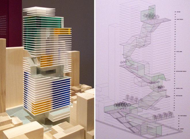 Modern Exterior Elevation by John Hill