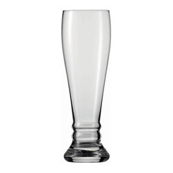 Frontgate - Set of Six Schott Zwiesel Bavaria Beer Glasses - Holds 22 oz.. Designed exclusively by Schott Zwiesel. Break resistant with added strength at the rim, bowl, and stem. The hardest, most brilliant crystal glass in the world. Remarkable clarity, brilliance, and luster. Our Schott Zwiesel Bavaria Beer Glasses offer the look and weight of glass without the fragility. By replacing the lead content with titanium and zirconium, these refined glasses resist chips, cracks, and scratches. This technology creates lasting durability and longer life for the stemware, without compromising the aesthetic quality of the glasses. Tritan Crystal is used by renowned sommeliers, restaurants, cruise lines, and resorts worldwide.  . . . . . Proven through independent testing to be fully dishwasher safe. No lead content. Made in Germany.