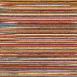 """Loloi Rugs - Loloi Rugs Camden Collection - Multi, 5'-0"""" x 7'-6"""" - The Camden Collection from India, is hand-woven of 100% wool, showcasing a series of striped and solid flat weave kilims in a broad range of soft, on-trend colors. Camden's defining characteristic is its texture, which alternates with each stripe inthe pattern to create an unprecedented appearance that will freshen up any room."""