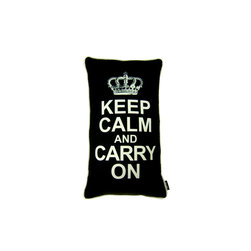 Lava - Carry On Black 14X24 Pillow (Indoor/Outdoor) - 100% polyester cover and fill.  Suitable for use indoors or out.  Made in USA.  Spot Clean only