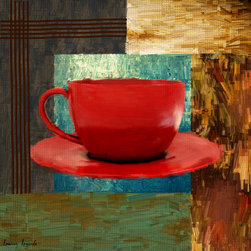 Coffee Lover - A wonderful Collection of Coffee Art which is elegantly and classically designed to complement any cafes, modern, contemporary and traditional kitchens perfectly.