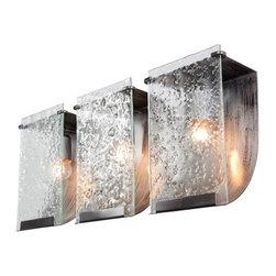 Varaluz - Varaluz 160B03 Rain 3 Light Vanity - Features: