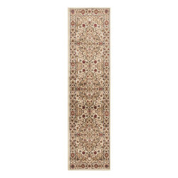 "Surya - Riley Rug RLY-5052 - 2' x 7'5"" - Both a bold zig-zag pattern and traditional organic pattern define the rugs in the Riley collection from Surya. While the zig zag pattern is a modern take on the traditional southwest style, the floral pattern of classic style is given a fresh perspective, combining it with geometric sections of different background colors. The Neural browns, tans and grays are delightfully balanced with a pop of cinnamon spice for added interest. Each rug is machine made in Turkey from 1% polypropylene."