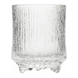 Iittala - Ultima Thule Old Fashioned, Set of 2, 7.25 Oz. Clear - Just because your drink of choice is called an old-fashioned doesn't mean your glasses can't be cool and modern. These cocktail glasses look like they were chiseled from a block of ice, so they're sure to keep your beverage chilly and sip-worthy. And they're even dishwasher safe, which makes cleanup a breeze.
