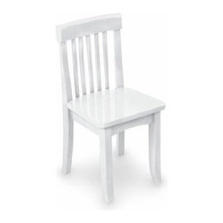 KidKraft - Avalon Chair, Vanilla by Kidkraft - Our heirloom-quality Avalon Chair is crafted form solid wood to endure rigorous use through childhood. Available in a variety of colors, mix and match the chairs for a customized look that enhances the decor of your child's room.
