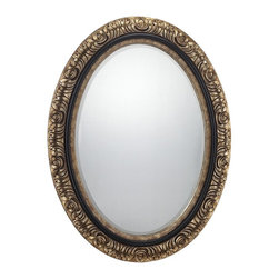 Jasmine Mirror - Savoy House isnt just for lighting of the highest quality and best craftsmanshipthis elegant mirror is another way to bring the excellence of Savoy to your home. Finish: GoldSafety Rating: UL, CUL