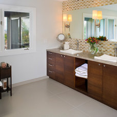 Traditional Bathroom by Strite design + remodel