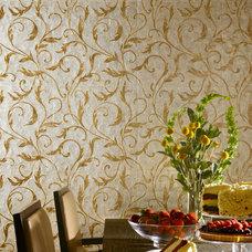 Traditional Wallpaper by Maya Romanoff