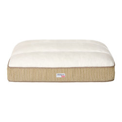 """Simmons - Simmons Beautyrest Pillow Top Napper - Luxurious Mystic fabric surrounds a 7"""" gusset. Filled with 4"""" of Simmons exclusive futon coil, 2"""" polyester Channel Quilted top, and a 1"""" bonded pad. The Quilted Silk Touch top ensures your pet sleeps soundly. Luxurious mystic fabric surrounds a 7"""" gusset. Filled with 4"""" of simmons exclusive futon coil, 2"""" polyester channel quilted top, and a 1"""" bonded pad. Quilted silk touch sleep surface. Non-skid bottom."""