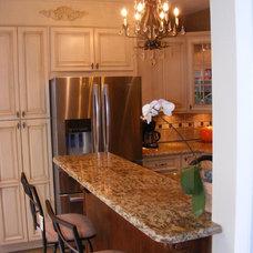 Mediterranean Kitchen Cabinets by RTA Cabinet Store