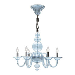 Crystorama Lighting - Crystorama Lighting 9846-CH-IB Harper Transitional / Modern Chandelier - Crystorama Lighting 9846-CH-IB Harper Transitional / Modern Chandelier In Polished Chrome