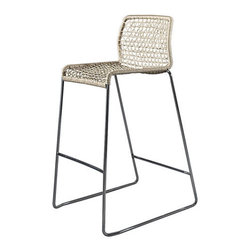 Usona Home.Barstool - Love this bar stool for a kitchen island-very comfortable looking with nice contemporary lines.