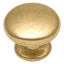 Hickory Hardware - Hickory Hardware 1-1/4 In. Manor House Lancaster Hand Polished Cabinet Knob - Classic lines, finishes and styles create a warm and comforting feel.  Usually 18th-century English, 19th-century neoclassic, French country and British Colonial revival.  Use of classic styling and symmetry creates a calm orderly look.