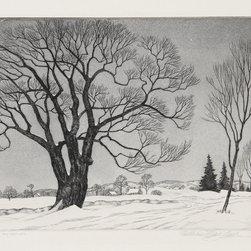 William MacLean, The Sentinel, Etching - Artist:  William MacLean, American (1897 - 1977)