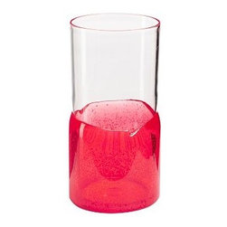 """Monterrey Outdoor Double Old-Fashioned, Set of 6, Red - A kick of color gives these casual outdoor glasses cheerful character. Tumbler: 3"""" diameter, 6.5"""" high; 20 fluid ounces Double Old-Fashioned: 3.5"""" diameter, 4.25"""" high; 14 fluid ounces BPA free; melamine construction Top-rack dishwasher-safe. Set of 6."""