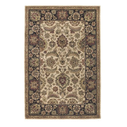 Chandra - Chandra Scotia Traditional Hand Tufted Rug X-60197-3023OCS - The Scotia collection is one of the finest hand-tufted rugs made from New Zealand wool, traditional design and soft, muted colors add to the this high quality rug a look and feel without comparison.