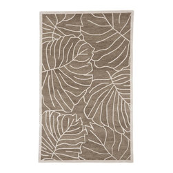 """Surya - Surya Studio Hand Tufted Safari Tan Wool Square Rug, 18"""" x 18"""" - The Studio Collection features rugs designed to coordinate with today's upholstery. The rugs are hand tufted in India and are produced from the finest 1% New Zealand Wool to provide a special texture. All rugs are offered in standard sizes. Imported.Material: 100% New Zealand WoolCare Instructions: Blot Stains"""
