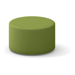 Turnstone - Steelcase - Green Campfire Ottoman - Take your break in full repose.