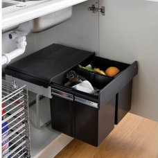 Contemporary Kitchen Trash Cans by Binopolis