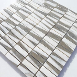 GlassTileStore - Sample-Pier Tribeca Marble Tile Sample - Sample-Pier Tribeca Marble Pattern 1/4 Sample  Please note you are purchasing 1/4 of a sheet sample.     -Glass Tiles -