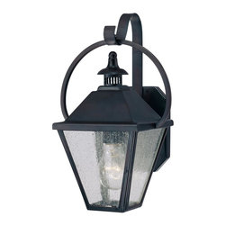 Savoy House - Savoy House 5-4000-13 Traditional Classic Single Light Down Lighting Outdoor Wal - This familys design gets its inspiration from the classic antique lanterns gracing the streets of New Orleans.