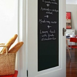 Black Wall Decal Chalkboard - Remarks for Application: