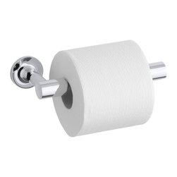 KOHLER - KOHLER K-14377-CP Purist Pivoting Toilet Tissue Holder - KOHLER K-14377-CP Purist Pivoting Toilet Tissue Holder in Polished Chrome