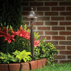Kichler Lighting - Kichler Lighting 15447OZ Landscape 12v 1 Light Pathway Lighting in Olde Bronze - This 1 light Landscape Path Light from the Landscape 12V collection by Kichler will enhance your home with a perfect mix of form and function. The features include a Olde Bronze finish applied by experts. This item qualifies for free shipping!