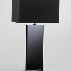 Cyan Design - Vista Table Lamp - Vista table lamp - black